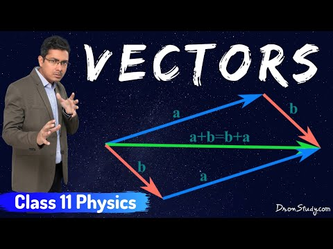 Vectors for IIT-JEE Physics | IITClass 11 XI | Basic Physics Video Lecture in Hindi