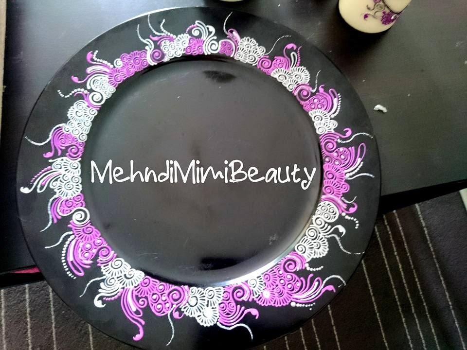 Diy Mehndi Plates : Diy henna tray plate thali mehndi plateau youtube