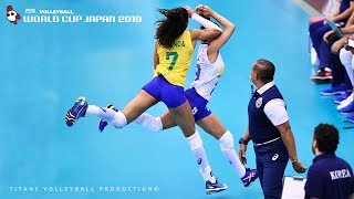 Great Volleyball Rally   Long Rally   Women's Volleyball World Cup Japan 2019
