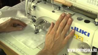 видео juki швейные машины