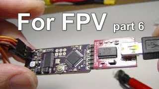 FPV Part 6: 3DR APM 2.6 Setup MinimOSD w/ Config Tool using FTDI USB Adapter, Video battery voltage?