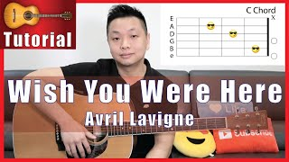 """Here is my simplified guitar tutorial of wish you were by avril lavigne, also known as the """"damn, damn, damn"""" song lol.get chord/tab sheets for t..."""
