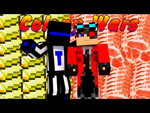 Minecraft Colony Wars : Златос и Берсерк - убийственная связка #28