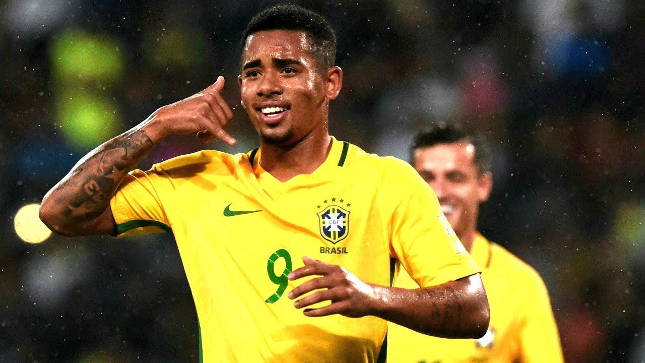 Gabriel Jesus  E  B Dribbling Skills Goals  E  B Brazilian Young Star  E  B   Hd