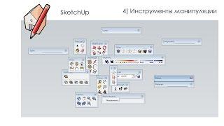 Уроки SketchUp - Основы SketchUp, урок №4: Инструменты манипуляции