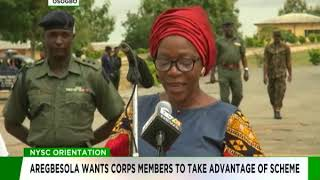Aregbesola wants Corps members to take advantage of NYSC scheme
