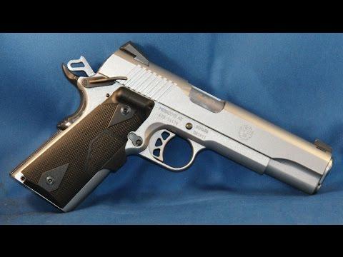 Adding a Crimson Trace Laser Grip LG-401 to a Ruger SR1911  45ACP pistol