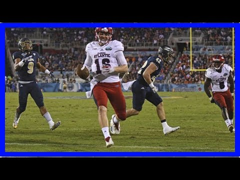 Boca raton bowl: lane kiffin's florida atlantic owls roll akron, 50-3- Breaking News TNC -