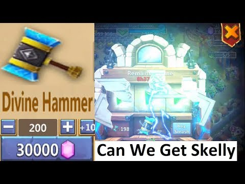 JT's Main THUNDER GODS GIFT Crazy Rewards Smashing Hammer Castle Clash