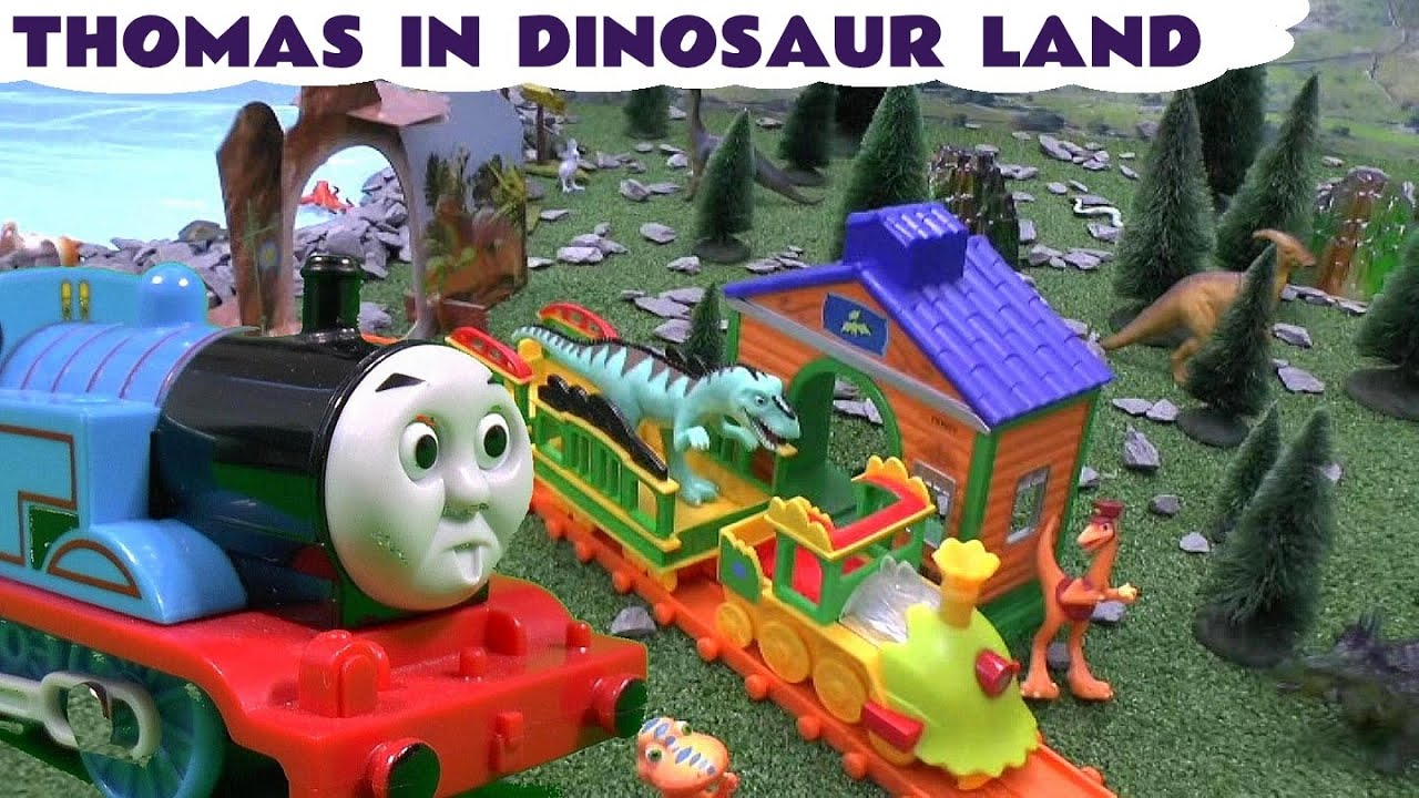 Thomas And The Dinosaur Friends Little Golden