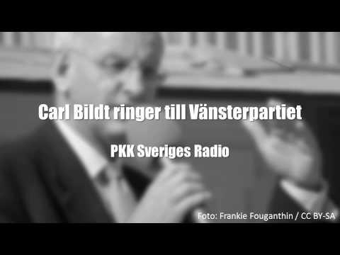 Carl Bildt ringer Vänsterpartiet / Ung Vänster