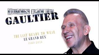 JEAN PAUL GAULTIER INTERVIEW - READY TO WEAR (LAST, LE GRAND REX, PARIS)