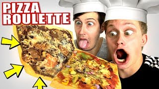 PIZZA ROULETTE! EKLIGSTE PIZZA DER WELT! 🍕