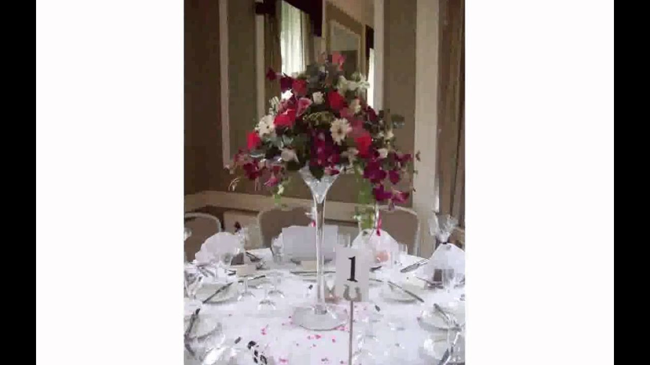 Martini Flower Arrangement Youtube