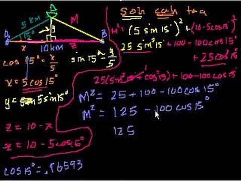 Trigonometry Word Problems (solutions, examples, videos)