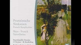 ビゼー 交響曲ハ長調第1、2楽章 スイトナー指揮シュターツカペレ・ドレスデン