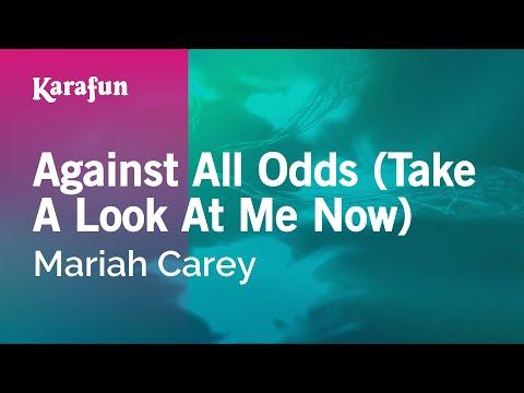 Karaoke Against All Odds (Take A Look At Me Now) - Mariah Carey *