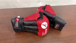 Обзор на перчатки для рукопашного боя Rusco. Дешевые перчатки для рукопашки .