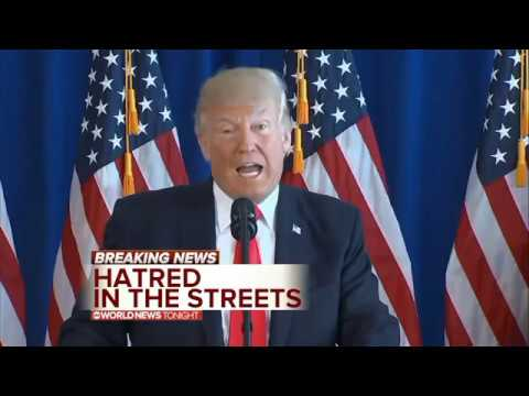 The Great Orange Cheeto Doesn't Incite Violence