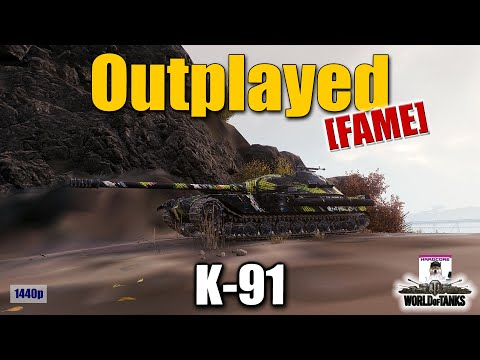 K-91 [FAME], Outplayed, best World of Tanks games