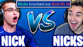 I KILLED NICK EH 30 IN A 1V1!! - (Nicks Vs. Nick Eh 30!)