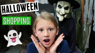 Halloween shopping trip with 5 kids!
