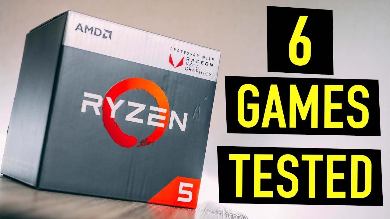 Ryzen 5 2400g Benchmark Without Gpu Radeon Rx Vega 11 Graphics Review Youtube
