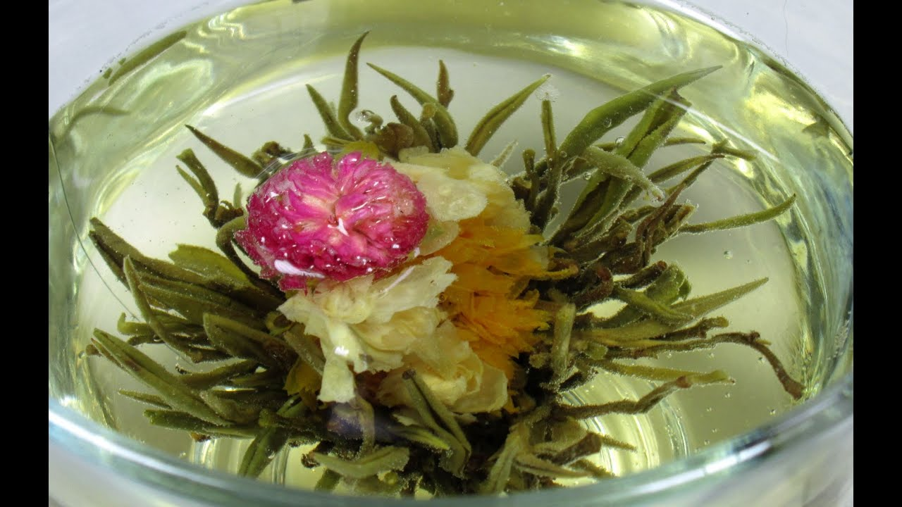 Blooming Tea Ball Flower Tea Time Just For Fun How To Youtube