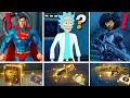 TODOS los NUEVOS BOSSES y ARMAS MÍTICAS de FORTNITE TEMPORADA 7 🔥 (RICK, SUPERMAN, DOCTORA SLONE) 😱