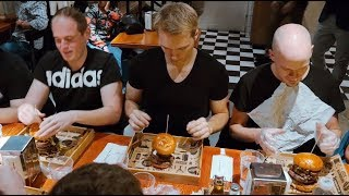 KONKURS W JEDZENIU 1KG BURGERA W BROOKLYN RESTAURANT & BAR | [Epic Speed Meal]