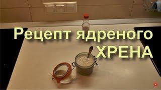 ✅ Как правильно готовить домашний ХРЕН? Лучший и правильный рецепт.