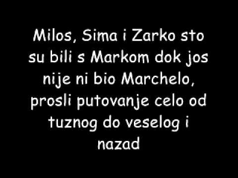 Marchelo & Edo Majka feat. Nevena-Volim Tekst
