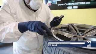 Réparation de jantes endommagées. Chrome Effect - Car Repair System streaming