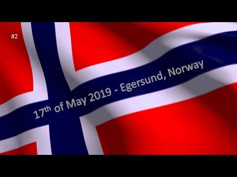 17th Of May 2019 In Egersund, Norway Part 2