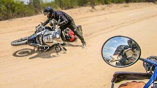CÓMO LEVANTAR LA MOTO | Vuelta al Mundo en Moto | África #103