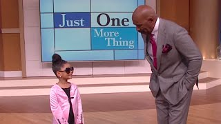 Meet Marjorie's biggest fan! || STEVE HARVEY