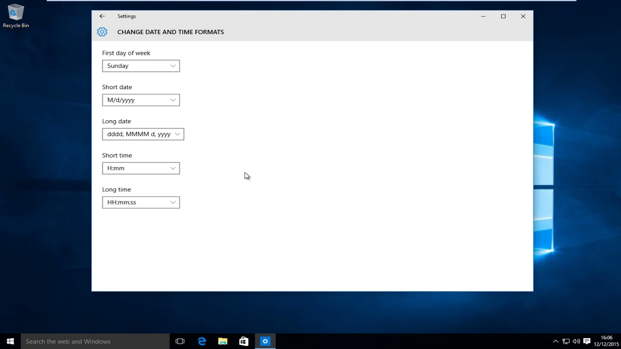 Windows 10: How To Change Between Time Formats (12-Hour ...