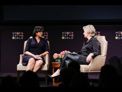 Cheryl Boone Isaacs in conversation with Tina Brown