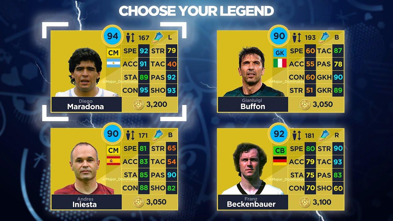 DLS 21 LEGENDS #4 | Dream League Soccer 2021