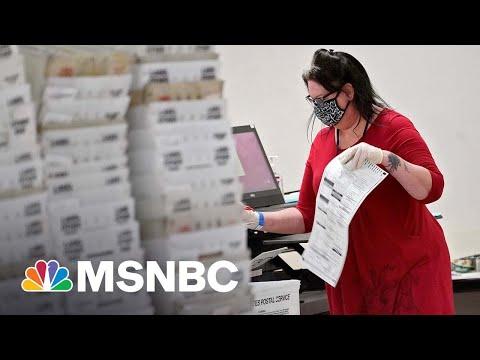 Voter Intimidation Concerns In Arizona With GOP 'Sham' Audit | The ReidOut | MSNBC