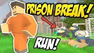 PRISON BREAK - Unturned Jailbreak RP   Searching For An Escape!