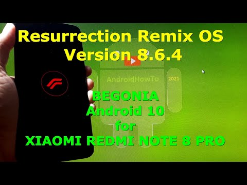 Resurrection Remix OS 8.6.4 Android 10 Official for Redmi Note 8 Pro - Begonia