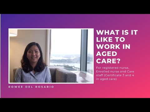 What Is It Like To Work In Aged Care In Australia In 2020?