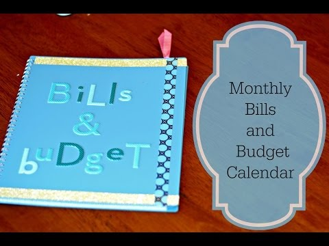 Organizing Bill Pay and Budget