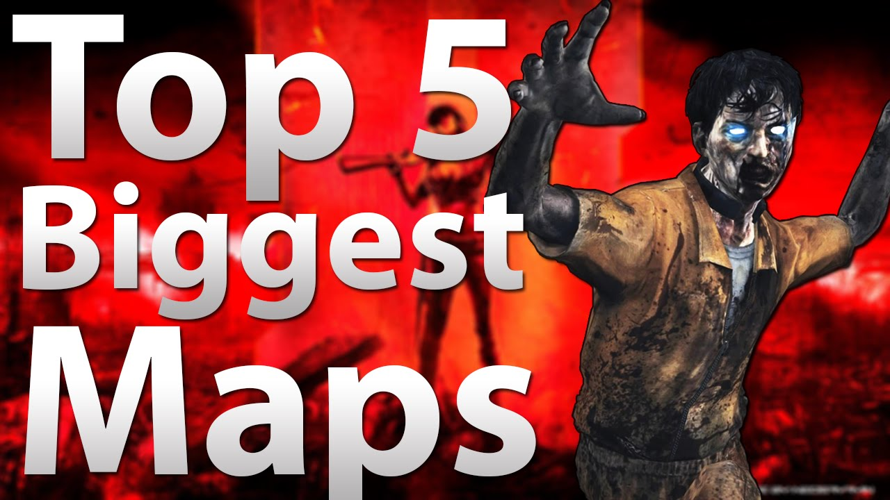 TOP 5 Biggest Maps In 'Call Of Duty Zombies'