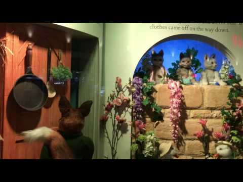 Newcastle Beatrix Potter Exhibit: The Tale of Jemima Puddle-Duck
