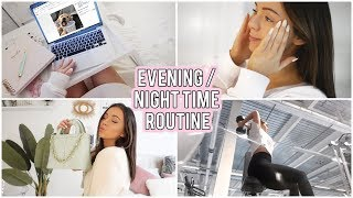 EVENING ROUTINE 2019 - Skincare, Gym, food ect! AD | Naomi Victoria