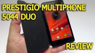 Prestigio MultiPhone 5044 DUO Review - GSMDome.com