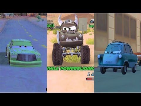Cars 1 & Cars 2 Bosses Race HD