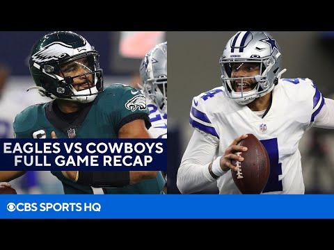 Eagles vs Cowboys: Dak Prescott, Ezekiel Elliott help Cowboys cruise over Philly Full Recap